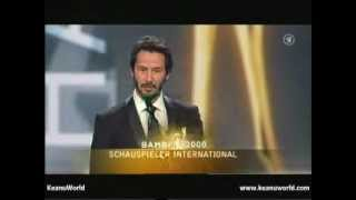 """Keanu Reeves """"Bambi Awards 2008"""""""