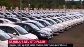 Türkiye'nin en büyük oto pazarı açıldı