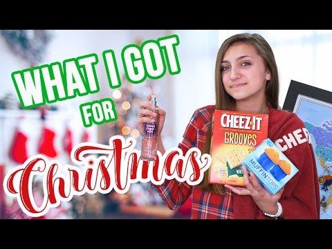 WHAT I GOT FOR CHRISTMAS 2016 | Kamri Noel