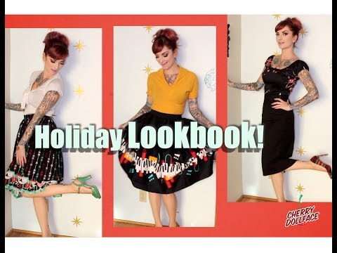 Xxx Mp4 Retro Holiday Lookbook 2017 Winter Style By CHERRY DOLLFACE 3gp Sex