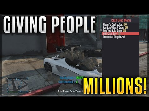 GIVING MY SUBSCRIBERS CASH DROPS ON GTA V!