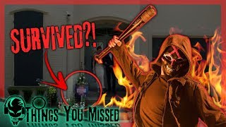 25 Things You Missed In The Purge TV Series | Purge TV Show