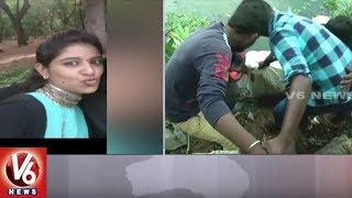 Student Sowmya Dead Body Found In IDL Lake   Jeedimetla   V6 News