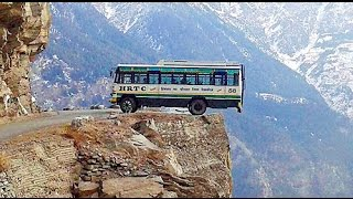 Worlds most dangerous- Beautiful Road, Shimla to Manali, Himachalpradesh, India- MovieBlends