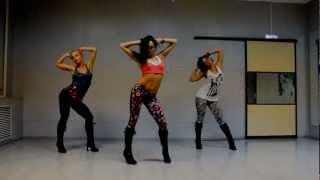 Lesson for beginner Go-Go Dance -High Heels (Kat Graham) choreo Katya Flash