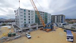 10 days, 6 levels, 77 homes – New building uses unique prefabricated construction system