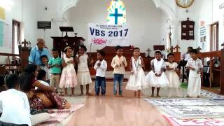 VBS 2017 At All Saints CSI Church MEVELLOOR. Kidz action song