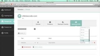 Namecheap New Control Panel How to Add A Record and CNAME DNS Entries for Shopify 2015