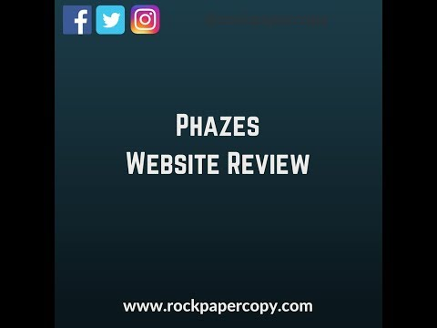 Phazes Website Review