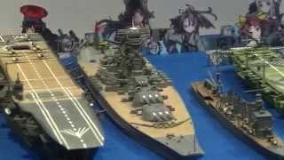 TVアニメ放送開始  艦隊これくしょん−艦これ−  戦艦模型 大集合:全日本模型ホビーショー2014