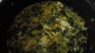 بهترین روش تهیه نرگسی اسفناج خوشمزه و مقوی Best recipe for delicious Nargesi Spinach
