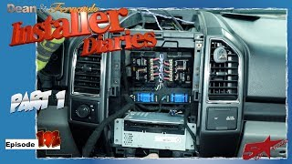 High Level 5 Channel Kicker Q Class Amp Install In A F150 Installer Diaries 192 Part 1