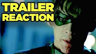 "TITANS Trailer Reaction! Robin ""F--- Batman"" Explained! #SDCC #NewRockstarsNews"