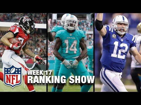 Top 10 Plays, Top 5 Celebrations & Top 5 Finishes! | Week 17 Ranking Show | NFL NOW
