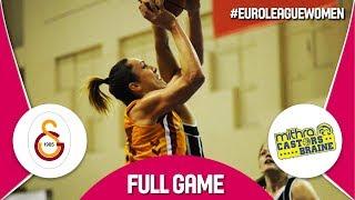 Galatasaray (TUR) v Castors Braine (BEL) - Full Game - EuroLeague Women 2017-18