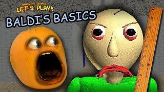 Annoying Orange plays Baldi's Basics in Education and Learning!