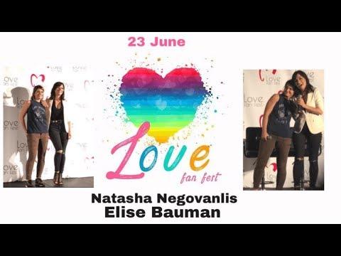Xxx Mp4 Elise Bauman Natasha Negovanlis LoveFanFest Day Two 3gp Sex
