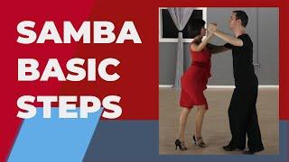 Samba dance steps & Technique -  For beginners