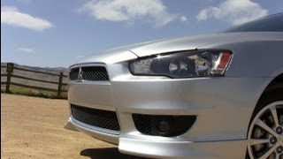 2012 Mitsubishi Lancer 2.4L AWD 0-60 MPH Drive and Review
