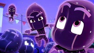 PJ Masks Episodes   Ninjalinos Special 🌟  Night Ninja Strikes!   Cartoons for Children #136