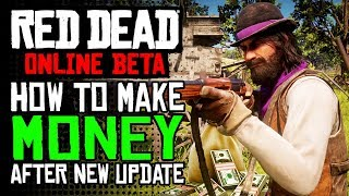 RDR2 Online How To Make Money After NEW UPDATE | Red Dead Online Update Money Guide!