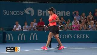 Mattek-Sands/Mirza v Makarova/Vesnina Match Highlights (Final) | Brisbane International 2017