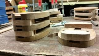 Making pulley-blocks