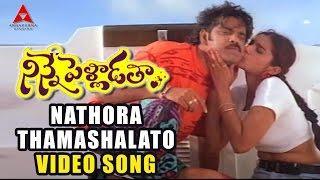 Nathora Thamashalato Video Song | Ninne Pelladatha Movie | Nagarjuna,Tabu