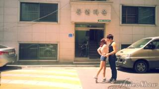 Cute Korean Couple Kiss and Hug each other