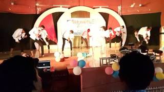 Mj 5 group dance funny