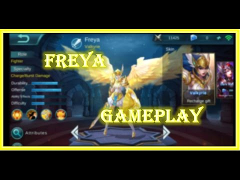Mobile Legends : Perfect Freya Gameplay - High Elo Guide #1
