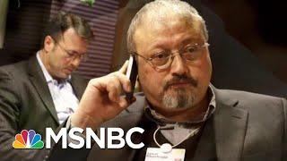 Report: Turks Claim Evidence Of Missing Washington Post Journalist   The Last Word   MSNBC