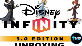 Disney Infinity 3 0 Alice Time Mad Hatter Character Figure Unboxing Alice Through The Looking Glass