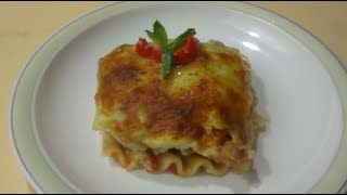 Lasagna   طرز تهیه لزانیه