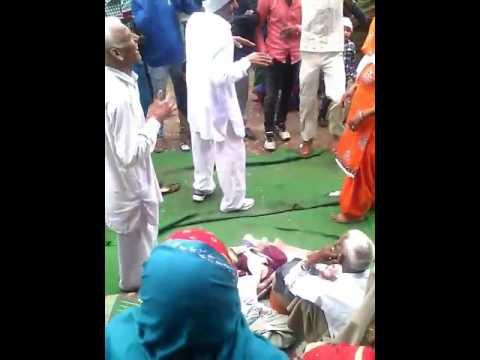 Desi danse in baroda village jija vs sali(2)
