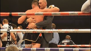"""'AND STILL"""" - The moment when Joseph Parker WINS against Hughie Fury!"""