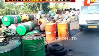 Duplicate Lubricant Manufacturing Unit Busted
