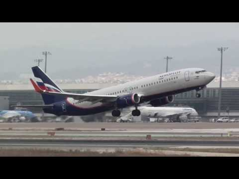 Aeroflot Boeing 737-800 VP-BGI Take Off Malaga LEMG