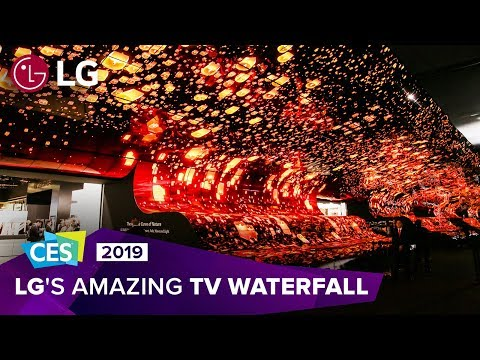 CES 2019 Experience LG s breathtaking OLED TV display