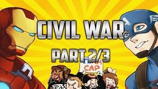 Captain Super Best Iron Friends: Civil War (Part 2/3)