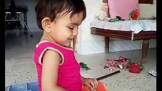Cute Little Baby Yagni Playing With Family | Funny | 20150427_172349