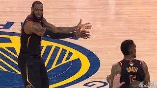 JR Smith Chokes! LeBron 51 Points Game 1! 2018 NBA Finals