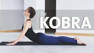 Die Kobra | Yoga Asana lernen für Anfänger | Bhujangasana