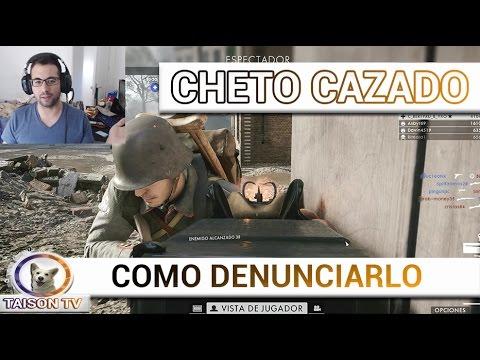 Battlefield 1 Cheto Cazado y como