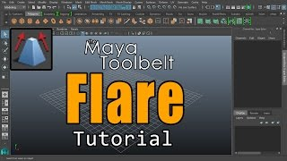The Maya Toolbelt - Flare Deformer