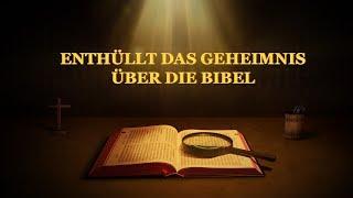 """Christliche Filme Trailer Deutsch   """"Enthüllt das Geheimnis über die Bibel"""""""