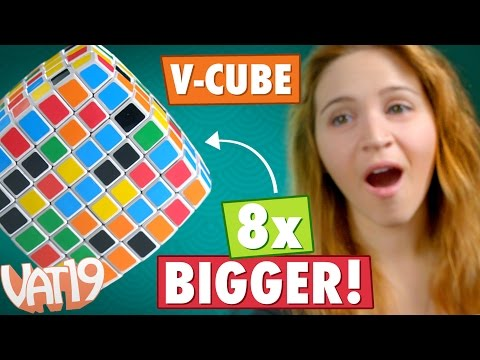 The Super-sized Rubik's Cube