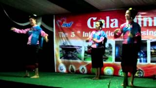 Gala Dinner The 5th INSF 2014 (dancing-student) Thailand