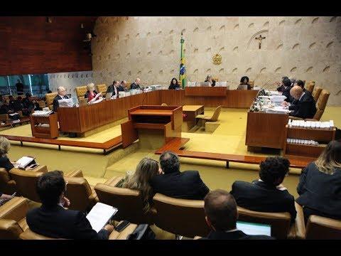 "STF julga ""habeas corpus"" preventivo de Lula - 22/03/2018"