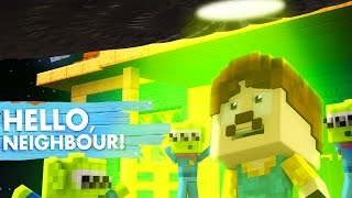 Minecraft Baby Hello Neighbour - THE NEIGHBOUR TEAMS UP WITH ALIENS?!